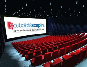 Vendita pubblicità nella rete di cinema e multisala del Triveneto